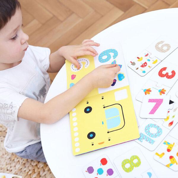 Kids Academy Numbers 3+ preschool activity set