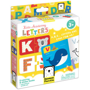Kids Academy Letters 3+ - learning letters preschool educational set