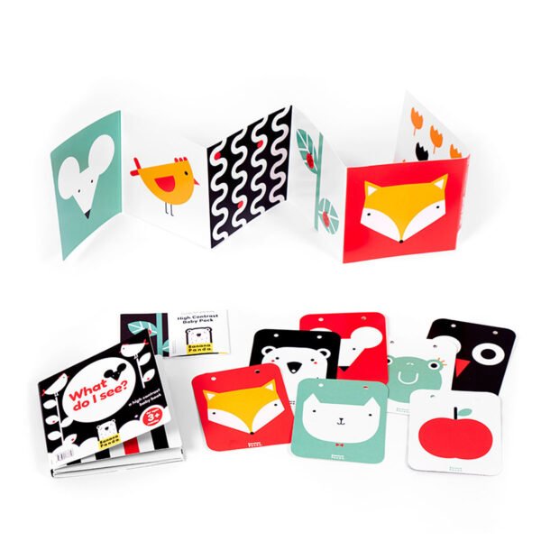 High Contrast Baby Pack high contrast educational set for newborns