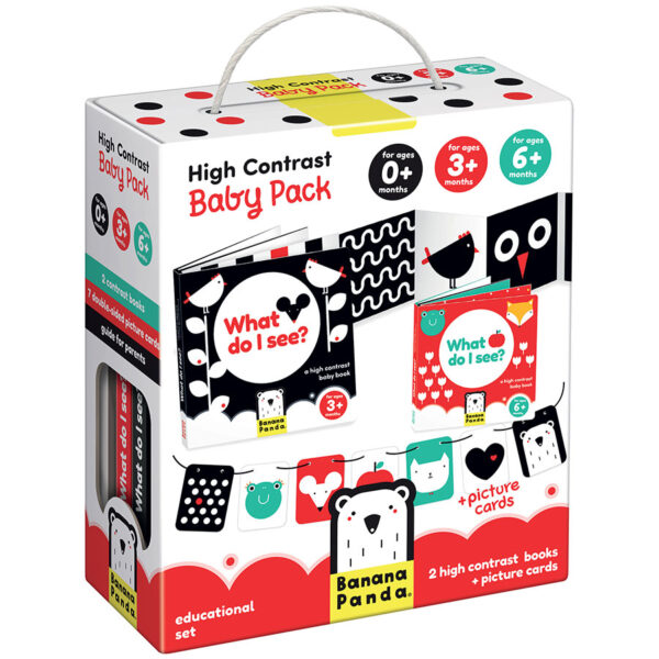 High Contrast Baby Pack educational newborn and baby set
