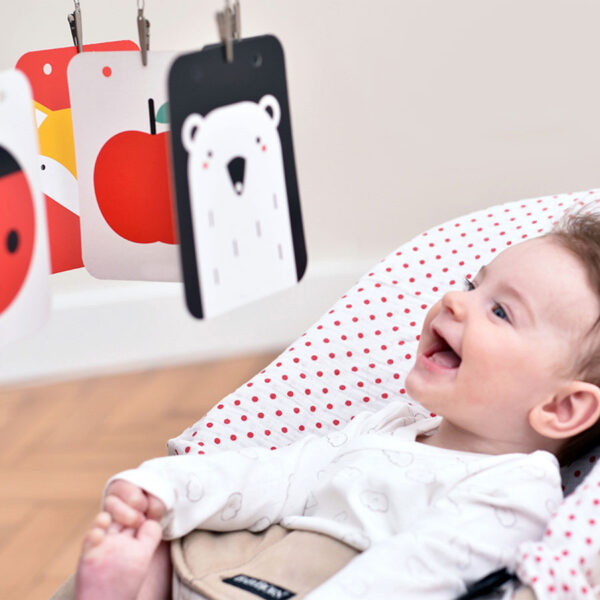 High Contrast Baby Pack baby visual learning activity for newborns