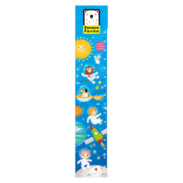Growth chart Space - free gift
