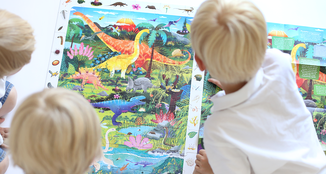 Observation Puzzle Dinosaurs header
