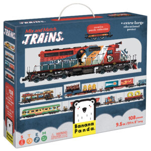 Mix and Match Trains - learning educational set