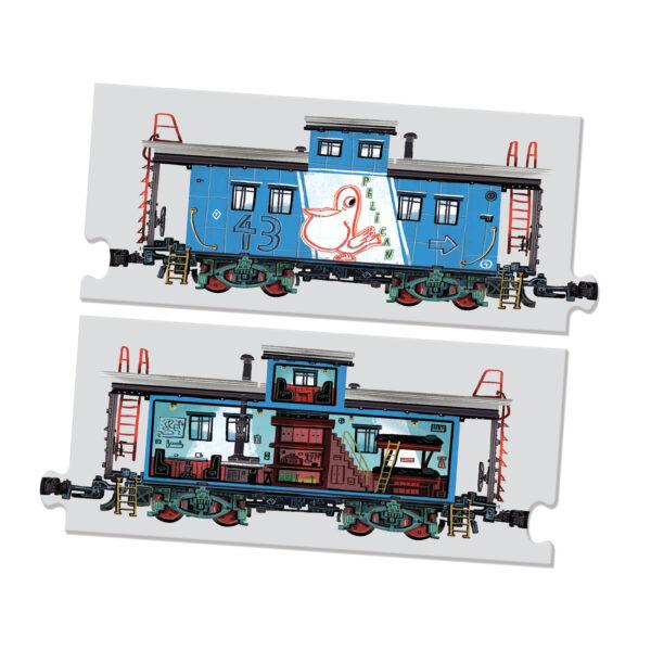 Educational mix and match train set - Mix and Match Trains
