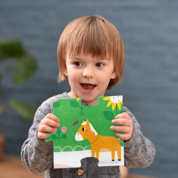 Suuuper Size Puzzle Farm Match Fun - farm toddler puzzle