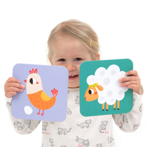 Memory game for toddlers - Suuuper Size Memory Game Farm Animals