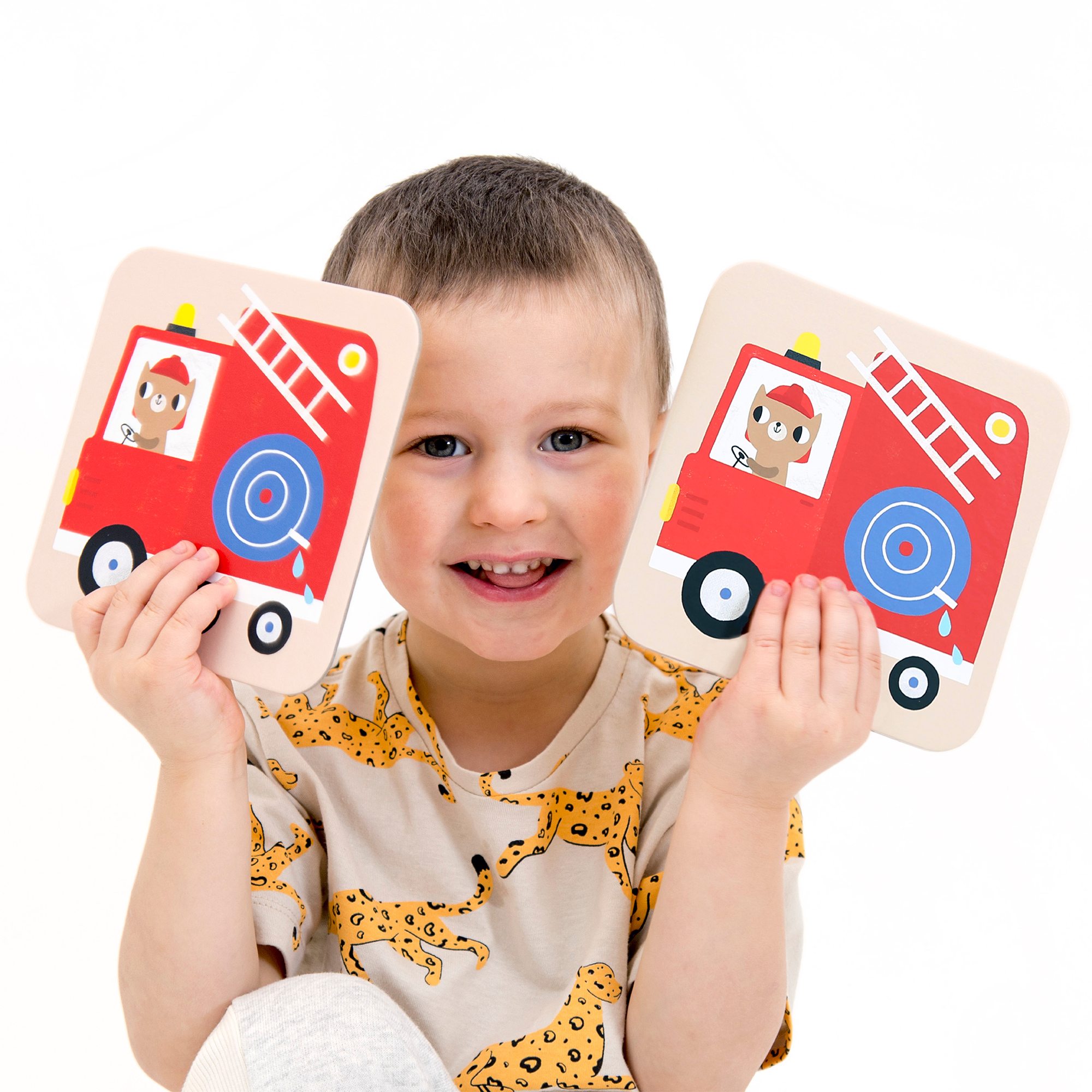 Educational matching game for toddlers - Suuuper Size Memory Game Vehicles