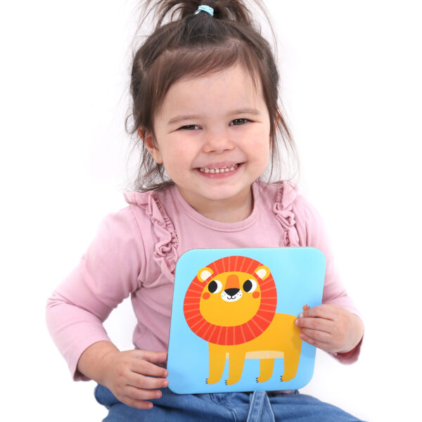Memory game for toddlers - Suuuper Size Memory Game Wild Animals