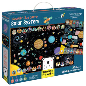 Suuuper Size Puzzle Solar System - jumbo floor space puzzle for kids