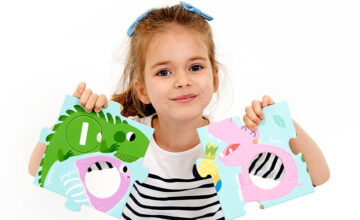 Game ideas - Suuuper Size Puzzle Alphabet - Letter learning for preschool children